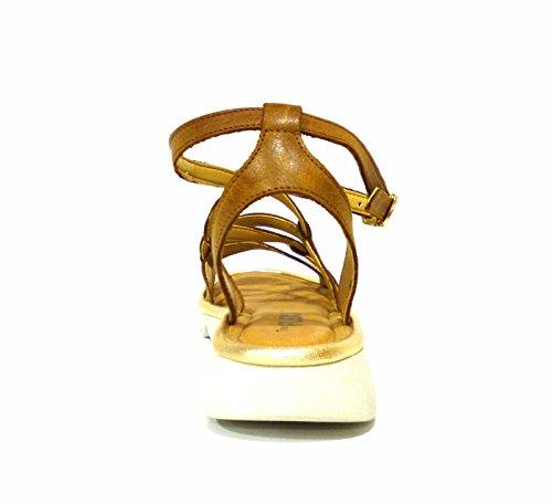 The Flexx Mujer Wavy B222/12 Cognac zapatos con correa