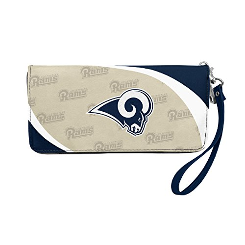 NFL Los Angeles Rams Curve Zip Organizer Wallet from Littlearth