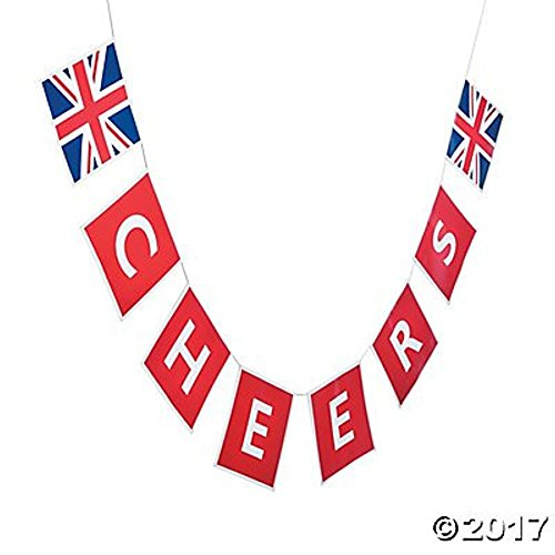 Fun Express Inc. British Party Garland Banner -