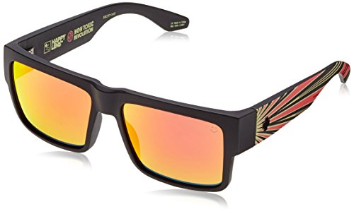 SPY cirus spectra de sol gray Red happy green Gafas Negro ftEq4