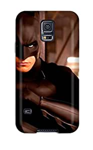 Awesome Case Cover/galaxy S5 Defender Case Cover(batman Begins () )