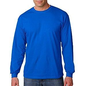 Gildan Mens 5.3 oz. Heavy Cotton Long-Sleeve T-Shirt (G540) -ROYAL -XL