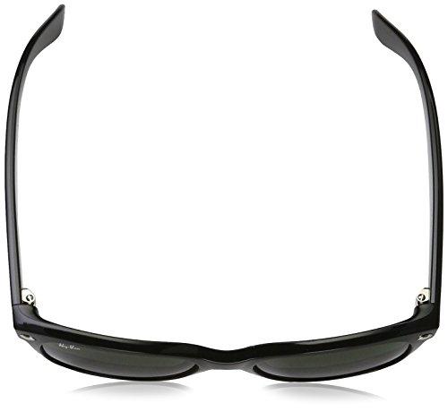 Amazon.com: Ray-Ban RB2132 - New Wayfarer Non-Polarized Sunglasses Black Frame Crystal Green Lens Size 55: Ray-Ban: Clothing