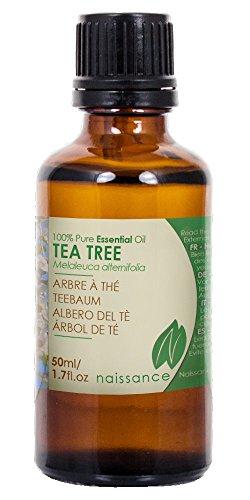 Teebaumöl - 100% naturreines ätherisches Öl - 50ml