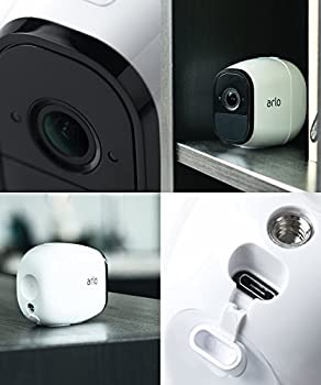 Arlo Pro By Netgear Add-on Security Camera - Add-on Rechargeable Wire-free Hd Camera With Audio, Indooroutdoor (Vmc4030) [Existing Arlo System Required], Works With Alexa 3