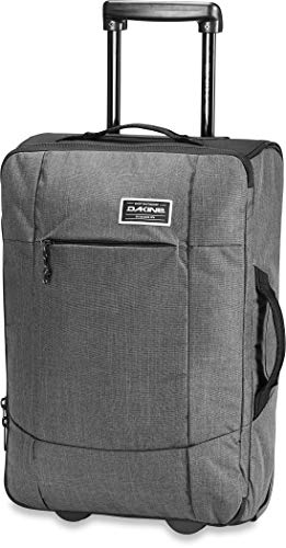 - Dakine Unisex Carry On Eq Roller Luggage, Carbon, 40L