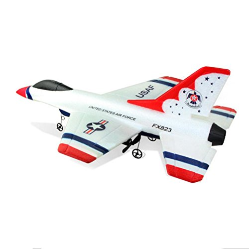 Remote Control Drone, COOL99 FX-823 2.4G 2CH RC Airplane Glider Remote Control Plane Outdoor Aircraft