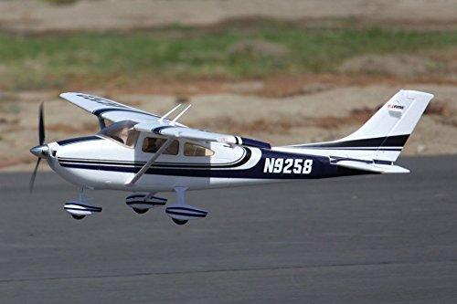 Fms Cessna 182 Rtf W 2.4ghz 1400mm Span - New Mk2