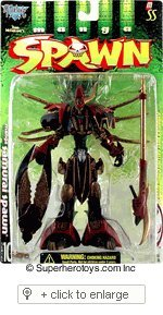 Todd McFarlane's Manga Spawn Ultra-Action Figure - Samurai Spawn - ASST# -