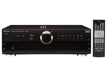 Technics SU A 808 HiFi-amplificador integrado de negro