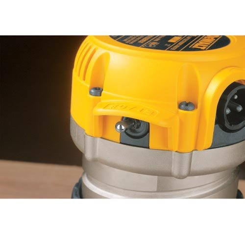 DEWALT Router, Fixed Plunge Base Kit, Variable Speed, Soft Start, 2-1 4-HP DW618PKB