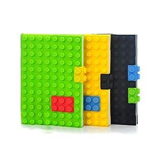 Gifthouse Jigsaw Blocks Lego Notebook...
