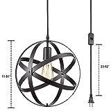 YOBO Lighting Industrial Plug-in Cord Pendant