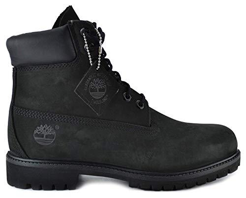 Timberland Men's 6-Inch Basic Waterproof Boots Black 10073 (11 D(M) US) ()
