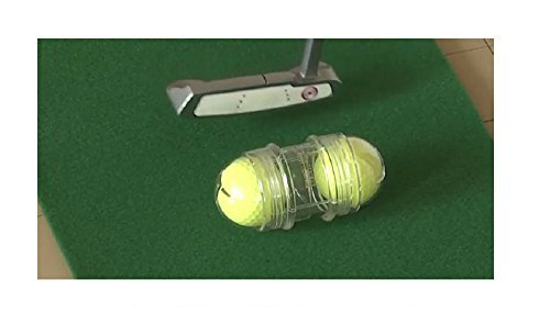 SGH-Amy Putter Putting Master Practice Golf Advancement Tool RoboGolf Face Impact for Upgrading (Yellow)