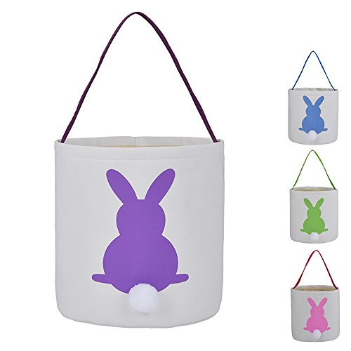 Easter Bunny Bags Rabbit Ears Design Cotton Dual Layer Easte