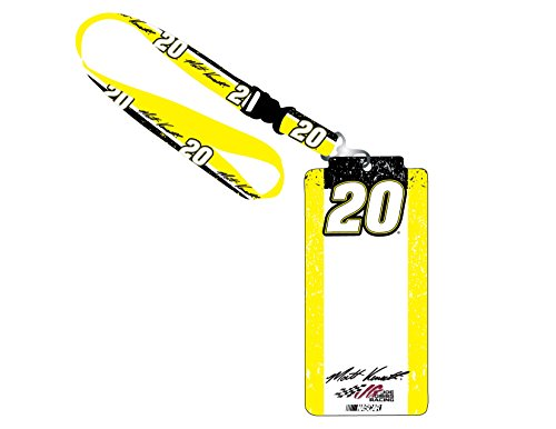 (NASCAR #20 Matt Kenseth Credential Holder w/ Lanyard-NASCAR ID holder-NEW FOR)