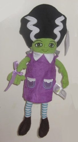 Animal Adventure Frankenstein Halloween PLUSH Doll ~ Frank 'N Betty 14 by Animal Adventure]()