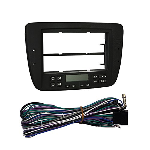 Metra 99-5718 Single or Double DIN Installation Dash Kit for 2000-2003 Ford Taurus -Black ()