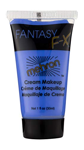 Mehron Makeup Fantasy F/X Water Based Face & Body Paint (1 oz) (BLUE) (Best Cheap Face Paint)