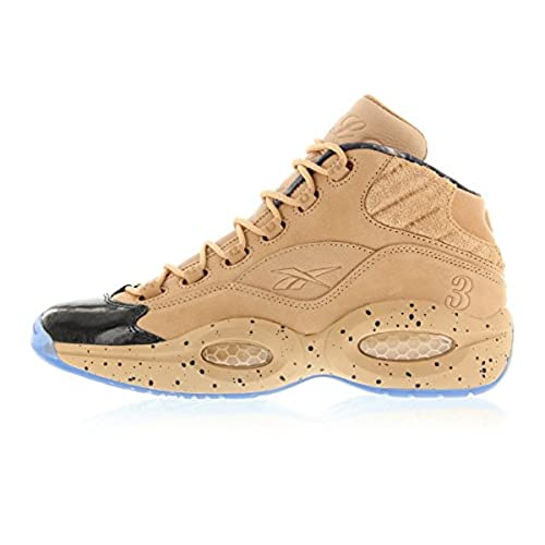 0a5bf561d959d8 well-wreapped Reebok x Melody Ehsani Question Mid Women s British Tan Blue  Ice BD4327