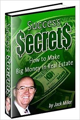 Book Success Secrets - Jack Miller - Real Estate Investor Training