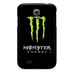 Protector Hard Cell-phone Cases For Samsung Galaxy S4 (Vus17169EReX) Customized Stylish Monster Image
