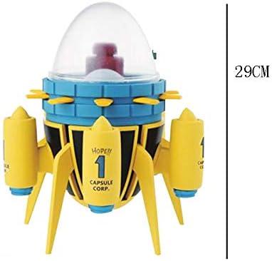 OLDJTK Dragon Ball - Time Machine Model PVC Series Juguete Decoraciones Regalos de cumpleaños Juego Hobby Coleccionistas: Amazon.es: Hogar