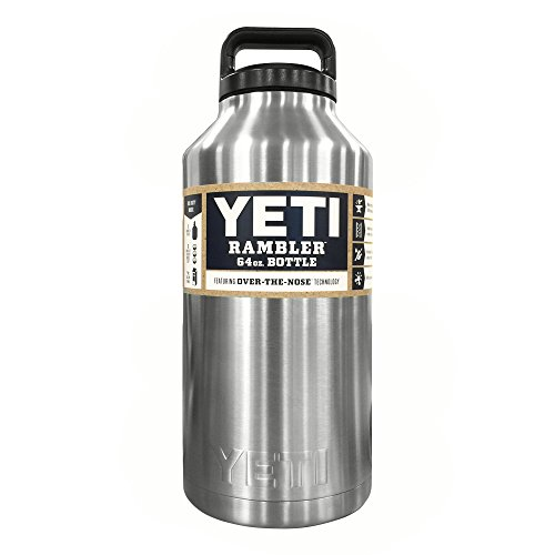 YETI Rambler 64oz Vacuum Insulated Stainless Steel Bottle is great for what is cowboy coffee and how to make it and tips for making great camp coffee