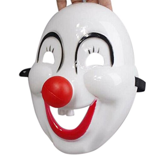 Cheap Clown Mask (AOWA 1 pc Funny Red Nose Clown Mask Halloween Masquerade Dress Party Comic Cosplay Masks)