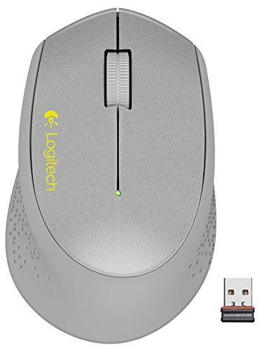 Logitech M320 910-004352 Silver RF Wireless Optical Mouse