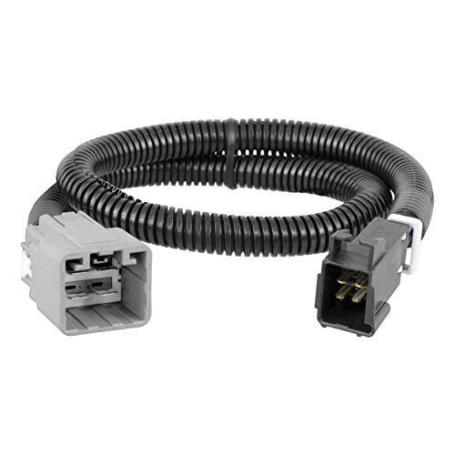 CURT 51457 Quick Plug Electric Trailer Brake Controller Wiring Harness for for Select Ram 1500, 2500, 3500
