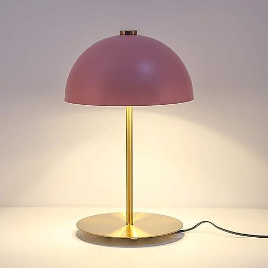 Lampe De Table,Personnalité Créative Rose Tête De Champignon