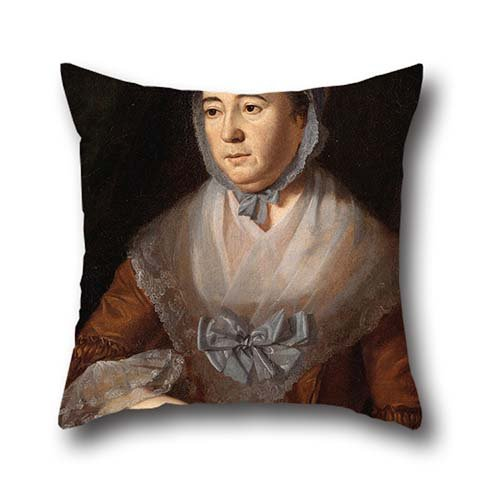 18 X 18 Inch / 45 By 45 Cm Oil Painting Charles Willson Peale - Anne Catharine Hoof Green Throw Cushion Covers ,each Side Ornament And Gift To Boy Friend,festival,deck (Peale Painting)