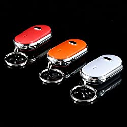 Whistle Key Finder Keychain Sound LED With Whistle Claps.
