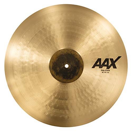 Sabian Crash Cymbal AAX Thin Natural Finish 18