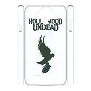 Classic Case Hollywood Undead pattern design For Samsung Galaxy S4 I9500(3D) Phone Case
