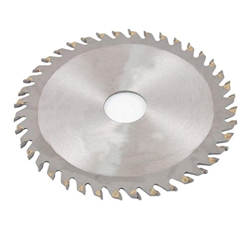 """LDEXIN 2 Pack 4-1/4"""" Diameter 40 Toothed Carbide-tipped Circular Saw Blade Woodworking Circle Milling Slitting Slotting Saw Mill Cutter 20mm/0.79"""" Arbor"""