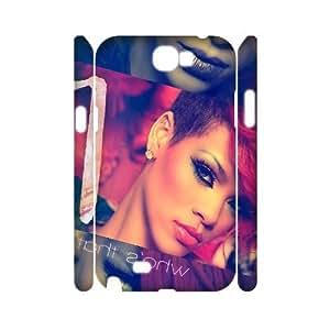 I-Cu-Le Rihanna Customized Hard 3D Case For Samsung Galaxy Note 2 N7100