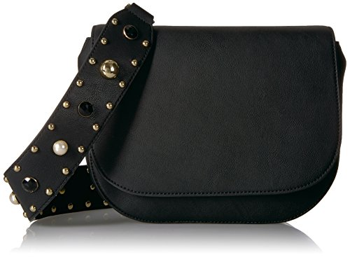 The Fix Colby Convertible Guitar Strap Saddle Bag, Studded Black/Multi
