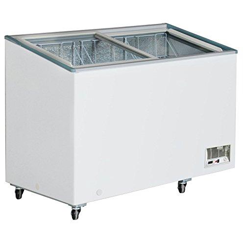 DUURA-DVFD106-Flat-Glass-Display-Freezer-White