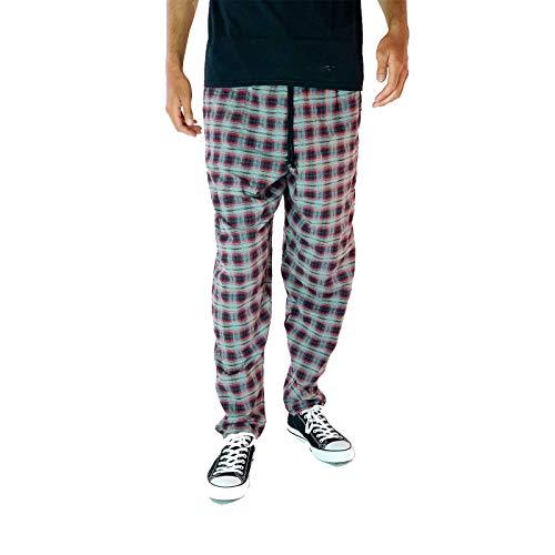 SKIDZ Black and Red Plaid Orginal Pants