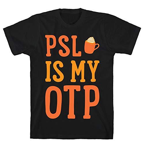 LookHUMAN PSL is My OTP (White) 2X Black Men's Cotton Tee ()
