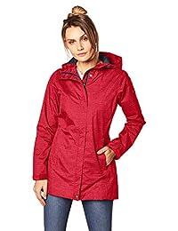 Columbia Women's Splash A Little Rain Jacket, Red Camellia Dotty Dye Print, X-Small