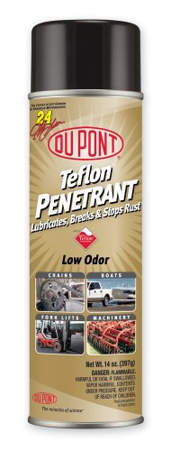 Rusts Pipes (DuPont Teflon Penetrant Lubricates, 14-Ounce)