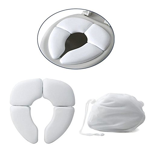 Baby Toddler Travel Padded Toilet Training Folding Seat Potty Cushion Traveller Trading Innovation