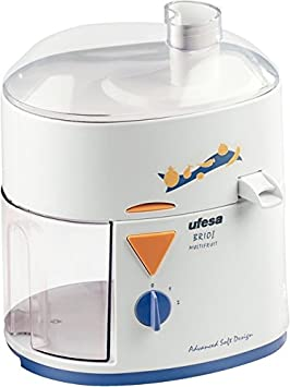Ufesa LC5005 Brio! Multifruit, 220-230 V, 50 Hz, 235 x 285 x 180 mm, Azul, Blanco, 1.7 m - Exprimidor: Amazon.es: Hogar