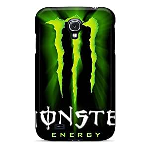 Hot XiS1701PkGy Case Cover Protector For Galaxy S4- Monster