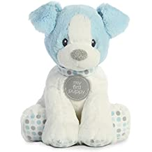 Aurora World My First Puppy Plush Animal, Blue