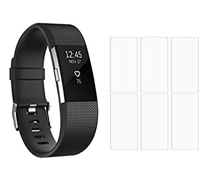 AnsTOP Chargers Fitbit Charge 2 with TPU Screen Protectors